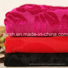 Jacquard Velvet Fabric Seat Cover 75D Winter Accessories Fabric