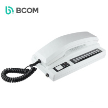 Bcomtech 2019 Hot sale wireless multi audio phone interphone system with Handset Fit for Hotel