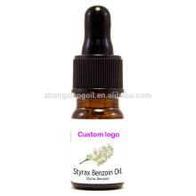 Styrax Benzoin Essential Oil OEM Wholesale Bulk Maker