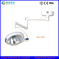 Ceiling Mounted Single Head Shadowless Cold Halogen Operating Lamps