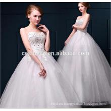 Alta calidad Appliqued princesa vestidos de novia / Fotos reales Hot venta vestidos de novia