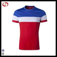 Kundenspezifisches Polyester-China-Fußball-Hemd preiswert