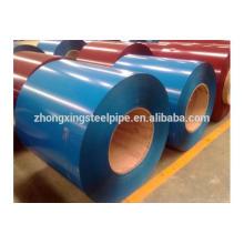 bobina de acero laminado en caliente, HRC/CRC bobina de acero galvanizada prepintada, color revestido acero bobina