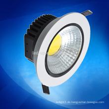 Fabrik Preis Cob Led Downlight 5W Dimmable / Ultra-Slim Led Downlight / Deckenleuchte