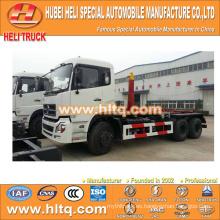 NUEVO tipo de brazo de DONGFENG DFL camión de basura 6x4 20M3 fábrica de alta calidad de precio bajo directa
