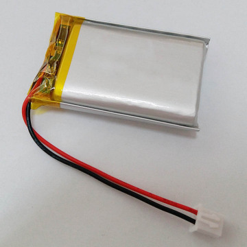 Batterie polymère lithium-ion rechargeable 3.7v 624948