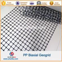 Geogrelha Biaxial PP com Dimensões de Abertura 34mmx35mm