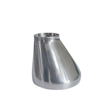 Sanitary Eccentric stainless steel Pipe fittings  quik-installed Clamped/Welded reducer