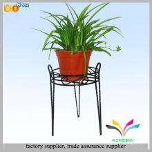 Горячей продажи хорошее качество кованого железа цветочный горшок стоит комнатное растение