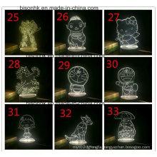 Acrylic 3D Night Light