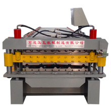 atomatic double layer for corrugated metal roofing machine