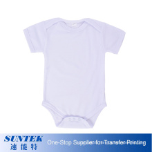 Printable Baby Rompers Summer Toddler Clothing Sublimation Blank Playsuits Infant Newborn Baby Boys Girls Jumpsuits