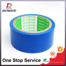 Caixa de advertência de entrega rápida de melhor qualidade de custo efetivo fita adesiva azul