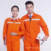 vestuário de trabalho de eletricista, trabalho wearable 2016 jaqueta de denim, uniforme de roupa de trabalho de segurança,