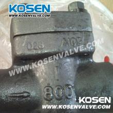 Forjada válvulas de retenção de pistão de aço (H11)