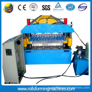 metal roofing tile machine