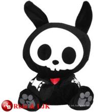 ICTI Audited Factory conejo negro juguetes de peluche