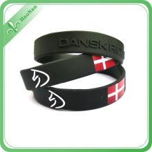 Festival Decoration Custom Silicone Rubber Wristband