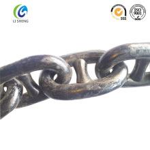Stud link anchor chain U2/U3 grade black painting