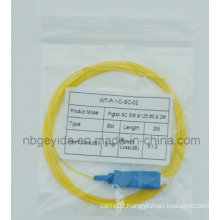 0.9 Sc Sm Fiber Optic Pigtail