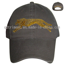 Washed Cotton Twill Embroidery Leisure Sport Baseball Cap (TM1119)