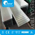 Bandeja de cabo perfurada flexível exterior fabricada principal do produto de BESCA