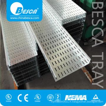 BESCA Produit principal manufacturé extérieur flexible perforé Cable Tray