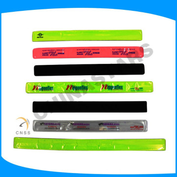 Banda reflectante reflexiva modificada para requisitos particulares venda reflexiva del fashional del wristband reflexivo