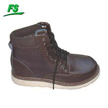 chaussures de travail en gros personnalisé cheville sable hommes