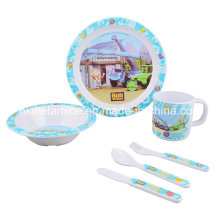Set de vaisselle en mélamine pour enfants avec 6PCS (TZ2937)