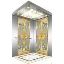 Miroir de levage pour ascenseur de passager gravé Mr & Mrl Aksen Ty-K242
