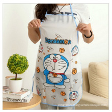 Lovely Bust Apron. Transparent Cartoon Waterproof Apron