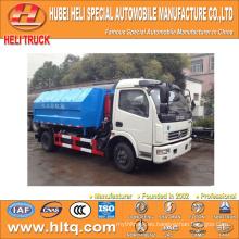 4X2 DONGFENG tirón del brazo auto-descarga camión de basura 5m3 95hp excelente calidad y precio razonable