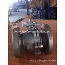 Hot Sale Flange Type Ball Valve