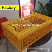 puede contener pollos de 50 kg de jaula de transporte de aves de corral de plástico