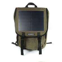Canvas Material with 20-30L Capacity brand new design Solar Backpack