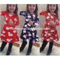 Оптовая Семья Соответствующие Одежда Для Девочек Детская Одежда Печатные С Длинным Рукавом Рождество Платье Девушки Цветка