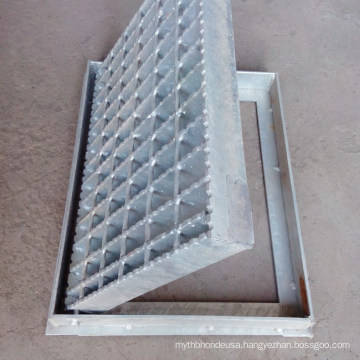 Outdoor Drain Cover Stainless Steel Bar Grating Frame Floor Grate Drainage Drain Cover