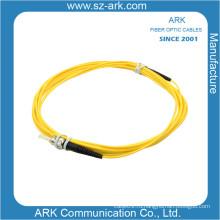 ST / PC-ST / PC одномодовый симплексный волоконно-оптический кабель