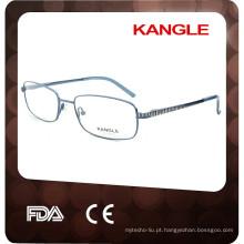2017 óculos ópticos clássicos unisex de metal e estrutura ótica de metal