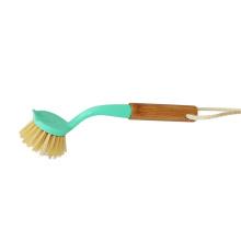 Food-Grade High Quality Natural Bamboo Dish Brush Set