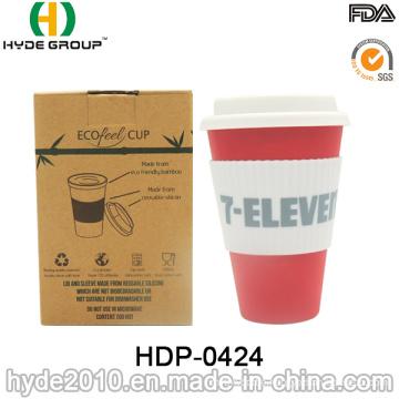 Coffee Mug Drinking Water Bamboo Fiber Cup (HDP-0424)
