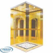 Ascenseur panoramique d'intérieur résidentiel en verre de l'acier inoxydable 400kg