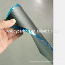 Großhandelsporzellan CNC, das Carbonplatten FPV 0.5x400x500mm glattes / Twillglascarbon-Fasermasche / Blatt schneidet