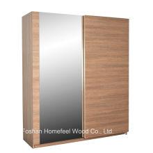 Guarda-roupa deslizante espelhado elegante Nice Deco (WB70)