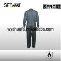 100% хлопок комбинезон длинный рукав безопасности комбинезон 100% хлопок огнезащитная одежда с множеством карманов