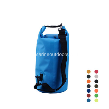 Sac sec transparent imperméable de sports de plein air 500D PVC 10L durable 10L