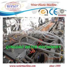 Madeira plástico composto WPC PE PVC decks máquinas de painel