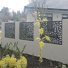 Garden Decorative And Privacy Screen Fence