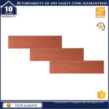 Tuile en bois rouge 150X600mm